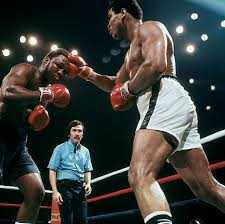 Joe Boxer Chair 25 Years Later Ali And Frazier Are Still Slugging It Out Si Com