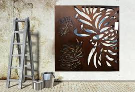 beautiful exterior metal wall art ideas amazing design ideas