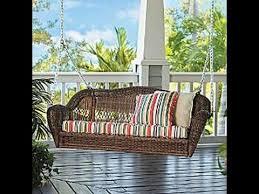 wicker porch swing wicker porch swing australia youtube