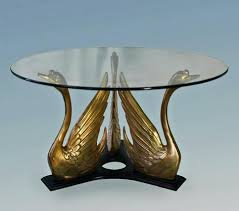 brass swan coffee table brass swan coffee table coffee table designs images worldsapart me