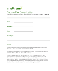 fax cover letter 8 free word pdf documents download free