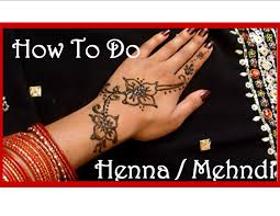 diy easy henna tattoo tutorial and aftercare youtube