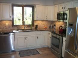White Cabinets Granite Countertops Kitchen Backsplash For White Cabinets And Brown Granite Nrtradiant Com