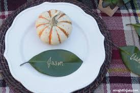 thanksgiving table place cards diy leaf place cards for thanksgiving a cup full of sass