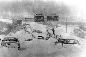blizzard of u002778 worcester massachusetts cars were left