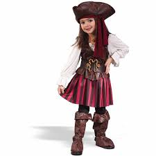 Halloween Costume Girls Seas Buccaneer Toddler Halloween Costume Walmart