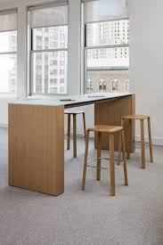 bar height conference table briefing bar height table with all wood rift oak trillia stools
