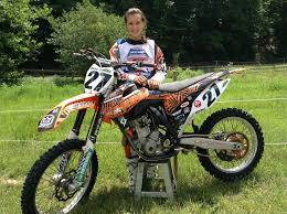 jacqueline riess 27 ktm 250 sx f ready for the 2014 national