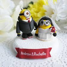 minion wedding cake topper 8 best minion wedding cake topper images on cake