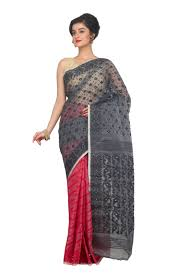 dhakai jamdani saree dhakai jamdani saree made of silk cotton the floral