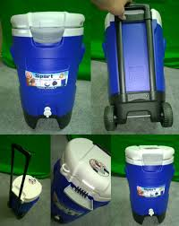 Outdoor Cooler Cart On Wheels by Hydration Systems Morley Athletic