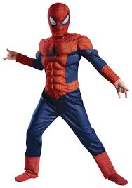Kids Light Halloween Costume Boys Ultimate Spider Man Muscle Light Costume Halloween Costumes