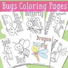 bugs coloring pages 1 red ted art u0027s blog