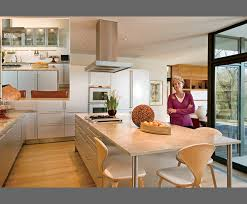 modern kitchen with white oak cabinets warm modern kitchen white cabinets limestone counters
