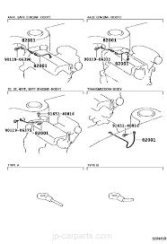 wiring u0026 clamp toyota part list jp carparts com