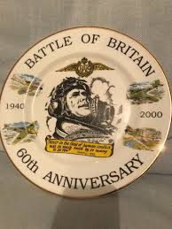 60th anniversary plate battle of britain 60th anniversary plate in emsworth hshire