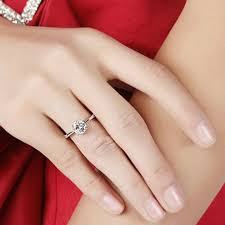 model cincin berlian mata satu zircon six claw ring 9 cincin berlian white jakartanotebook