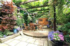 outdoor patio landscaping ideas pictures cottage garden patio