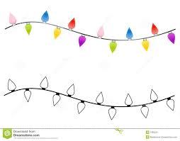 string of christmas tree lights u2013 happy holidays