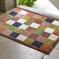Floor Rug Tiles Hug Rug Non Slip Indoor Floor Mat Tiles 80 X 60cm