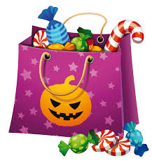 haloween clipart halloween candy bags u2013 festival collections