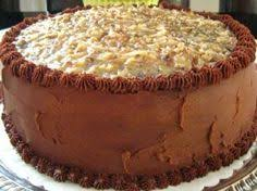deep south dish classic german chocolate cake with a slight