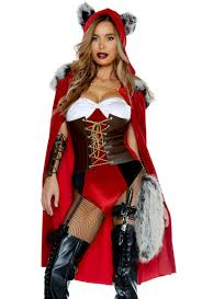 red riding hood halloween costumes forplay little red riding hood wolf cape costume ebay