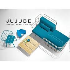 mousse coussin canapé canapé d extérieur jujube canapé structure acier dossier et assise
