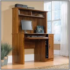 Sauder Harbor View Corner Computer Desk Antiqued Paint Sauder Corner Desk And Hutch In Antiqued Black Desk Home