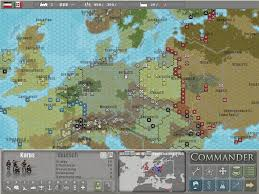 Europe Map Games by Commander Europe At War Screenshots For Windows Mobygames