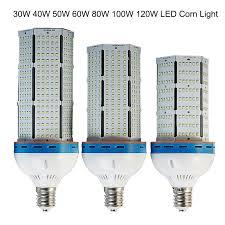 100w cfl light bulbs 5pcs fedex dhl free shipping e40 100w led corn light fins heat sink