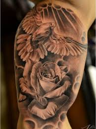 Flower And Bird Tattoo - best 25 dove tattoos ideas on pinterest dove tattoo meaning