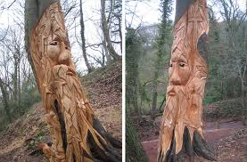 chainsaw wood sculptures for woodlands parks play areas and gardens