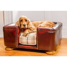 Square Chesterfield Sofa by Bespoke Mahogany Tetford Chesterfield Dog Bed By Lords U0026 Labradors