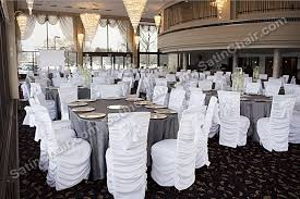ruched chair covers linens chairs satinchair