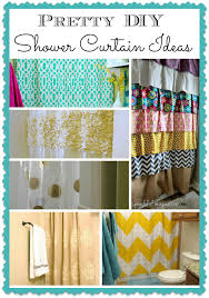 Shower Curtain Ideas Pictures Diy Shower Curtain Projects