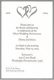 25 anniversary invitation cloveranddot com