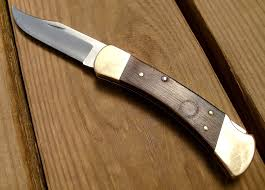 new buck 110 auto push button folding knife recoil offgrid