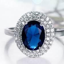 big ladies rings images 2015 latest fashion single big blue neelam stone gold ring designs jpg