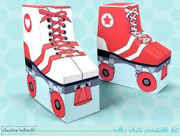 Skating Favors by Make A Roller Skate Favor Box
