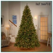 9 pre lit trees on sale