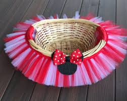 minnie mouse easter baskets minnie mouse basket etsy
