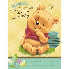 winnie the pooh baby shower baby pooh and friends baby shower invitations 8 count