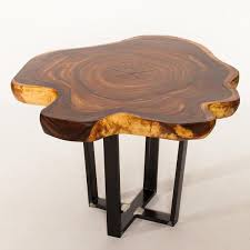 Suar Wood Live Edge Round Table 99m Warehouse 2120