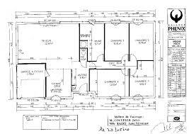 plan villa plain pied 4 chambres 45 élégant plan maison plain pied 4 chambres avec suite parentale