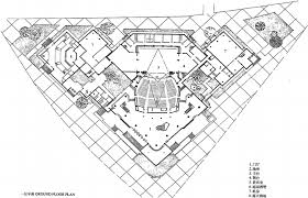 national theatre floor plan cheng taining the hangzhou institute of architectural design the