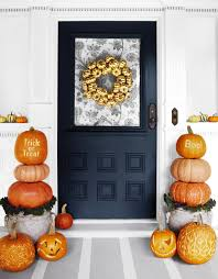 Halloween Wreath Ideas Front Door 60 Cute Diy Halloween Decorating Ideas 2017 Easy Halloween