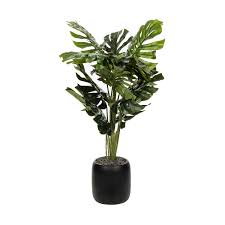 artificial plants monsteria artificial plant kmart