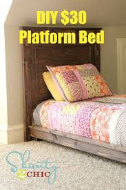 Free Twin Size Platform Bed Plans by Best 25 Twin Platform Bed Ideas On Pinterest Bed Dimensions