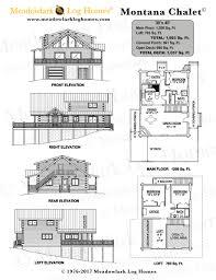 chalet floor plans and design montana chalet meadowlark log homes